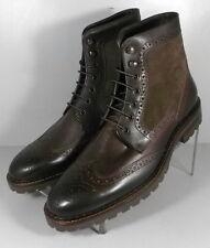 208936 SPBT50 Men's Boots Size 9 M Brown Leather 1850 Series Johnston & Murphy