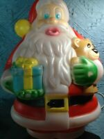 "VINTAGE 1999 CHRISTMAS EMPIRE 18"" SANTA BLOW MOLD W/LIGHT CORD"