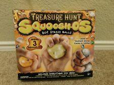 New in box Horizon Group Usa Treasure Hunt Squoosh-o's Diy stress balls kit
