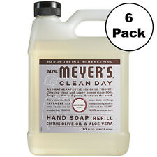 Mrs Meyers Clean Day Hand Soap Refill 33 Oz Lavender Scent - 6 Pack Case