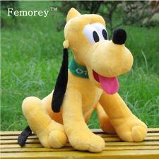 Kawaii 30cm Pluto Plush Toys Goofy Dog Donald Duck Daisy Duck Friend Pluto