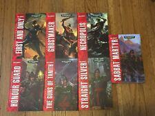 Warhammer 40K Gaunt's Ghosts novels (Dan Abnett) - 7 total paperback books