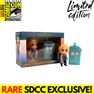 Dr Who 13th Doctor SDCC Titan Kawaii Vinyl 6.5 Figure Limited Edition Boxed NEW