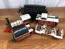 New Bright Holiday Express Winter Belle Musical Christmas Train And Track Works