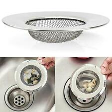 Kitchen Waste Stainless Steel Sink Strainer Plug Drain Drainer New Basket A5J5