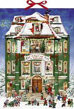 Deluxe Traditional Christmas Carol Musical Card Advent Calendar