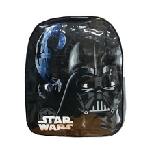 DISNEY STAR WARS DARTH VADER BACKPACK SCHOOL JUNIOR BAG CHILDREN KIDS BLACK GREY