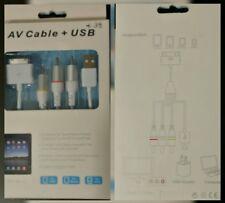 CAVO AV + USB COMP. APPLE Ipod nano/iphone 4-4s/ipad