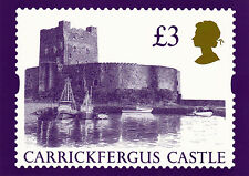 1995 HIGH VALUE £3 CASTLES MINT PHQ CARD. No D8. SG CAT £10.00.