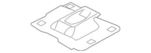 Genuine Ford Upper Trans Mount 5S4Z-7M121-A