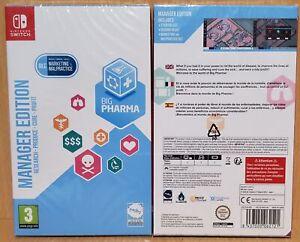 Big Pharma Managers Edition UK/AUS Nintendo Switch NEW & SEALED FREE Express