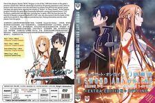 Sword Art Online (1 - 49End + Extra Edition + Offline SP) ~ 3-DVD ~ English Vers