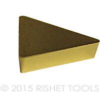 RISHET TOOLS TPG 321 C5 Multi Layer TiN Coated Carbide Inserts (10 PCS)