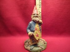 Dad With Love by Artist Clark Gnome Figurine Year 1995 Father's Day Gift