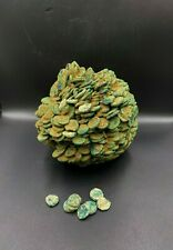 Ancient Indo-Greek kushan Empire Bunch of Ancient Coins Circa 2nd century Bc