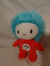 "Dr Seuss Thing 1 Baby Plush 10"" Cat in the Hat"