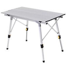 Klapptisch Campingtisch Falttisch Picknicktisch Höhenverstellbar Tragetasche Alu