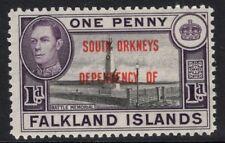 FALKLAND IS.DEP. SGD2 1944 1d BLACK & VIOLET MNH