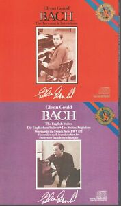 Glen Gould Bach Cd The English Suites + The Toccatas & Inventions 2x2Cd