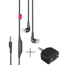 Nokia WH-205 Stereo In-Ear Earphones Headphone With Mic With Free Connector