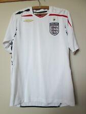 Rare football shirt England Umbro Home 2007 - 2009 size: M perfect condition