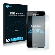 6x Savvies Screen Protector for Samsung Galaxy S Advance Ultra Clear