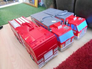 3 X Micro Machines Playsets - 2 of them all the pieces inside are missing