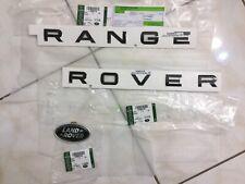 03-12 Range Rover Rare Autobiography Metal Tailgate Badge Emblem Plate Genuine