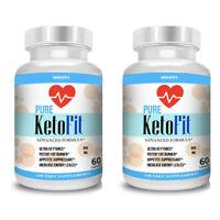 Best Keto Fit Weight Loss Diet Pills Ketogenic Supplement BHB Ketofit Ketosis x2