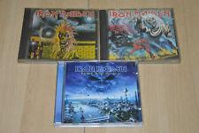 Lot 3 albums CD Iron Maiden