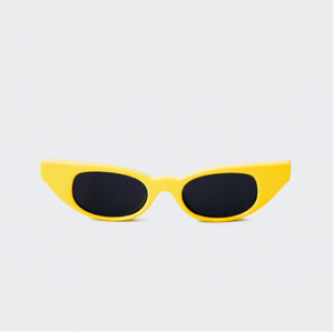 Le Specs LUXE Adam Selman The Breaker **NEW W TAGS** LIMITED EDITION Yellow