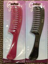 GOODY DETANGLING HAIR COMB - PINK & BLACK Set (45599) *FREE SHIPPPING*
