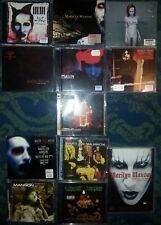 Marilyn Manson CD Album collection  15 discs in total