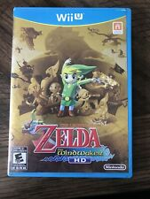 The Legend of Zelda: The Wind Waker HD (Wii U) Case & Insert Only NO GAME