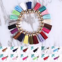 10pcs Charm Tassel Pendant For DIY Key Chain Keyring Bag Jewelry Finding Craft