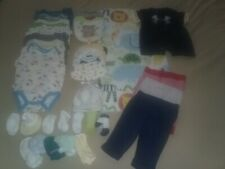 Infant Toddler Baby Boys 3-6 Months Clothes Lot Of 37 Pieces