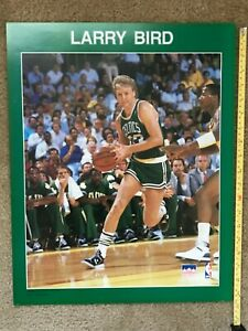 Vintage Larry Bird Boston Celtics Poster Starline 1988 Print 16 X 20