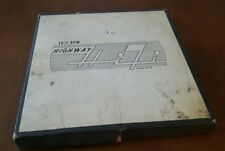 CHRYSLER HIGHWAY HIFI 16 2/3 RPM BOXED RECORD SET BY COLUMBIA RECORDS - 8 total