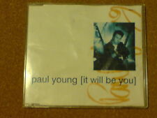 PAUL YOUNG - IT WILL BE YOU - CD SINGLE