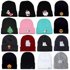 Winter Men's Women's Hat Unisex Warm Winter Knit Cap Hip-hop Skull Beanie Hat