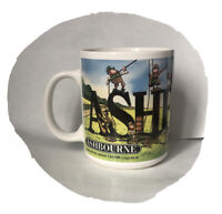 Ashbourne Imported Irish Creme Liqueur Coffee Mug / Cup 8 Ounce Leprechauns!