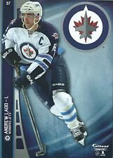 ANDREW LADD FATHEAD TRADEABLES WINNIPEG JETS LOGO REMOVABLE STICKER 2014 #37