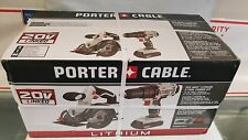 NEW PORTER-CABLE 2-Tool 20V Circular Saw drill driver Li-ion Combo Kit PCCK612L2