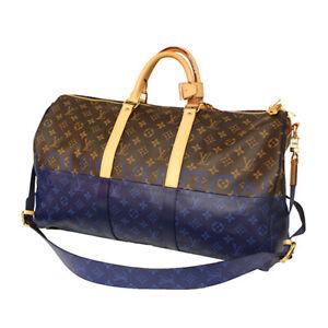 Louis Vuitton Keepall 50 Bag Monogram Pacific Sprit Blue Kim Jones M43861 New LV