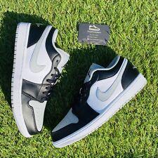 Nike Air Jordan 1 Low Shadow Light Smoke Grey Toe UK 10 | EU 45