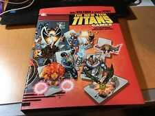 The New Teen Titans Games Original Hardcover Graphic Novel Comic Book