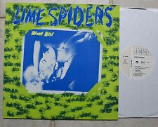 """LIME SPIDERS – Slave Girl  12"""" Maxi  Closer Records – CL 0034"""