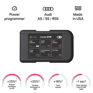 Audi A5 S5 RS5 smart engine tuning chip power programmer performance tuner OBD2
