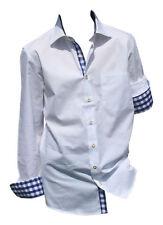 Camisas de vestir de hombre 100% algodón talla M
