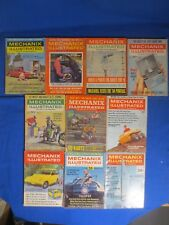 Lot of 10 Mechanix Illustrated Magazines 1960 1963 1965 1968 1969 Cars And More